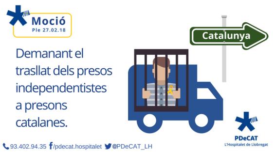trasllat presos polítics a Catalunya